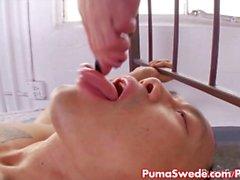 Puma Swede Fucks To Get Her Feet Covered in Cum!