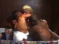 Sweet Blonde Babe Loves Midget F