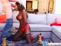 Slutty Step Mom Diamond Jackson loves my cock
