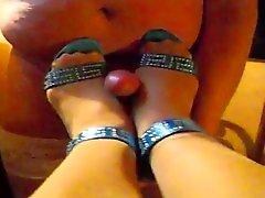 Shoejob - Fick meine Yüksek Topuklar