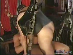 Mistress Karla Fucked In A Swing