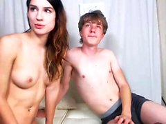 Brunette amateur Tanner Mayes with small
