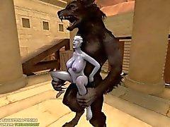 Liara X del hombre lobo (Completo)