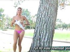 Valentina Cheerleader Porn For The Florida Marlins