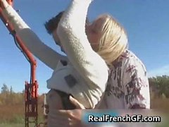 Rough french girlfriend fucking part4