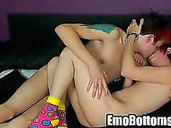 Emo twink Drake Blaize takes a cock in his ass