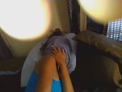 Dude fucks and films her shy girlfriend
