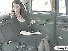 Кудрявый любительские заблуждение от мошенничества , то водитель получил трахал