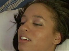 Amateur brunette nailed by bbc