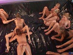 Jenna Haze Oil Orgy HD
