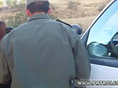 Gianna michaels cop Brunette gets pulled over for a cavity s