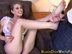 Bbc loving ho feet spunk