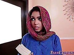 Chicas hijo musulmana creamed