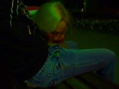 blowjob in the park in the evening her boyfriend
