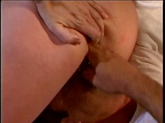 Threesome with DP action