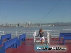 Sexy french girlfriend cruise ship sex