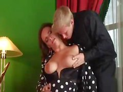 Salesman Cums Twice With Sexy MILF