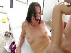 Teenage cutie desperate blowjob
