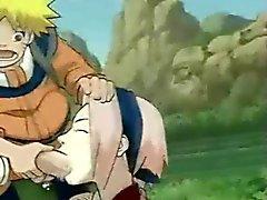 Hentai Fucking - Naruto doujinshi Sakura deep throat