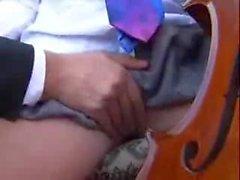 Musikpedagog fucks elev