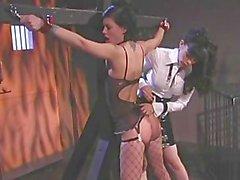 Lesbians Spanked - Scene 4