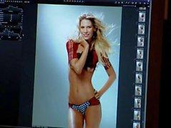 Sarah Brandner Nude Bodypainting