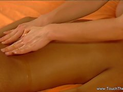 A Relaxing Massage Of Lesbian Partners