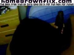 HomeGrownFlixcom - Sextape Black Freak Loves Dick 2887
