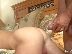 Married dude get fucked on the couch by a gay