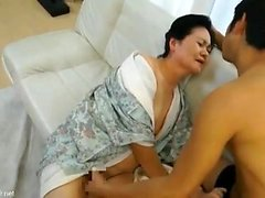 Hairy pussy Japanese MILF looks for sex