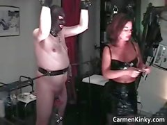 Hot sexy MILF brunette nasty chick part3