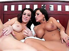 Jayden And Lisa Ann Bed Buddies