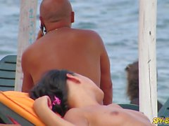 Hot Bikini Topless Amateur Teens - Voyeur Spy Beach Video