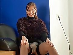 Milf instructs her wankers. JOI