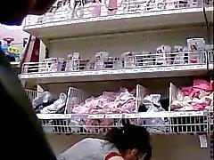 Flash cum in supermarket 6