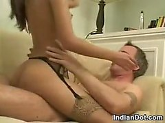 Skinny Indian Babe Being Anal Fucked