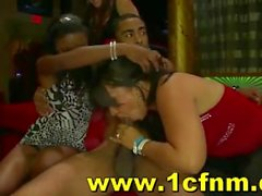 Insane Drunk Women Go Wild For Strippers Cocks