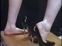 high heel urethral insertion