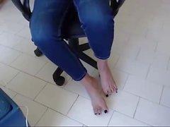 queen little brazilian show here cute feet