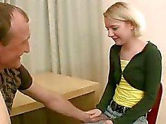 Sex appeal chick blir knullad riktigt hårt