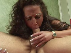 Hungry MILFgets a good pounding doggy style