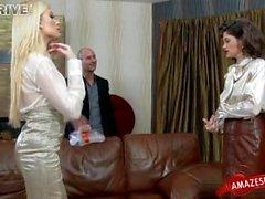 Busty amateur ass spanking