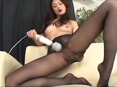 Jeanies nylon blowjob