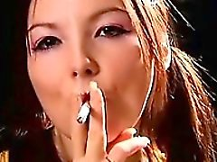 Wild Naughty Gal In Voluptuous Smoking Gal