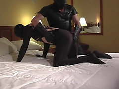 Spandex spanking ve emme - Sahne 05