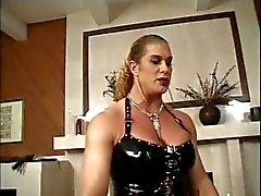 She Hulk Nicole Bass Walking The Dog