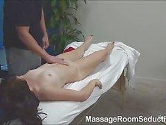Hot Teen Seduced by Massage Therapist!