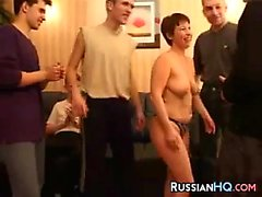 Russian Whore With Five Guys
