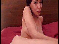 Horny Asian German Bitch Masturbating & Dirty Talk
