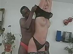 Norwegian woman interracial